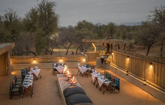 Becks Safari Lodge - Dining