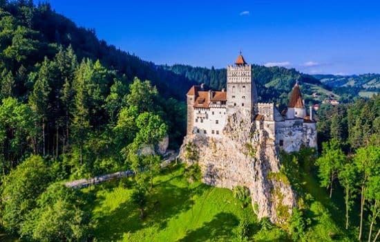 Bran Castle in Transylvania, Brasov