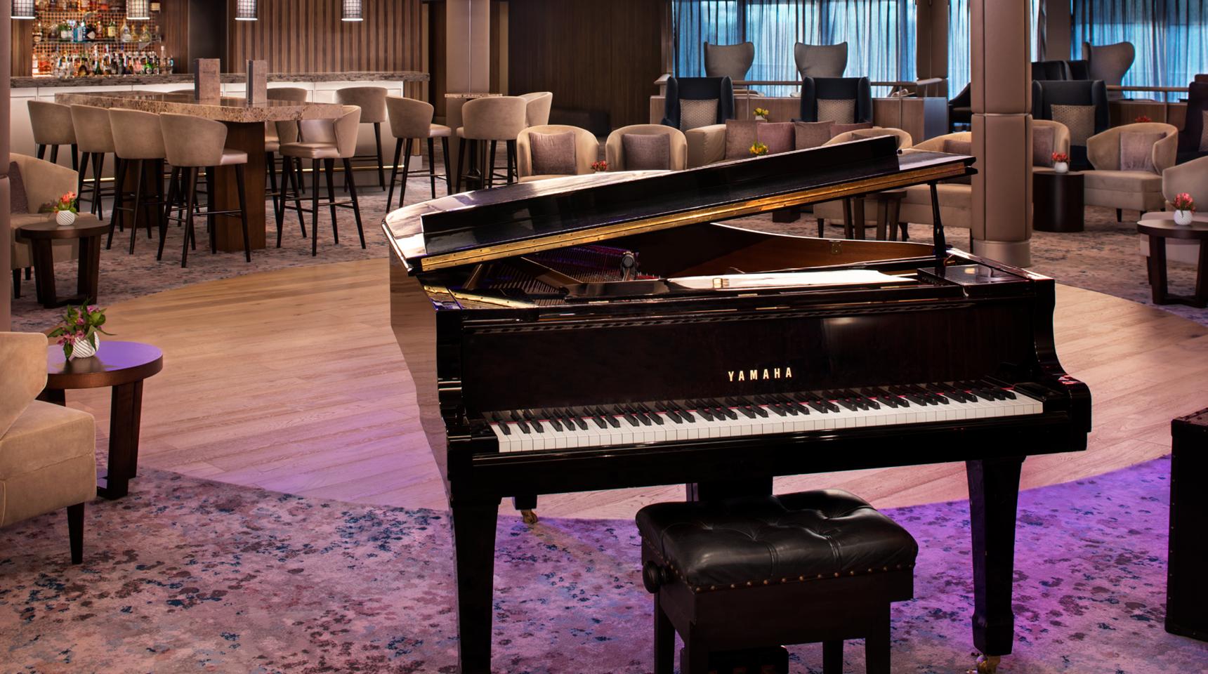 Celebrity Millennium Grand Piano Interiors