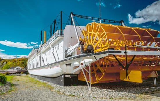 The SS Klondike paddleboat in Whitehorse