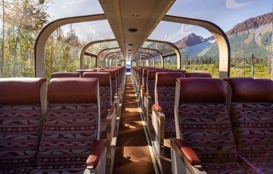 GoldStar Dome Car in Alaska