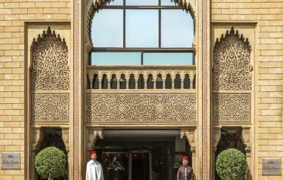 La Tour Hassan Palace - Exterior