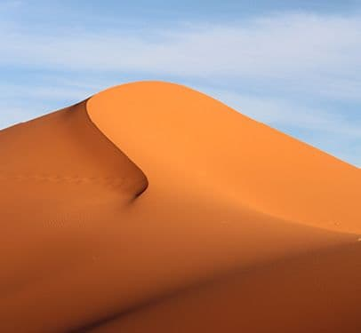 Soft sand in the Saraha Desert. Visit when you travel Africa