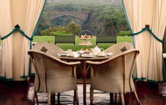 Victoria Falls Hotel - Resturant