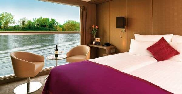 A1, B1 and B4 — Strauss Deck and Mozart Deck Stateroom on the MS Amadeus Silver II