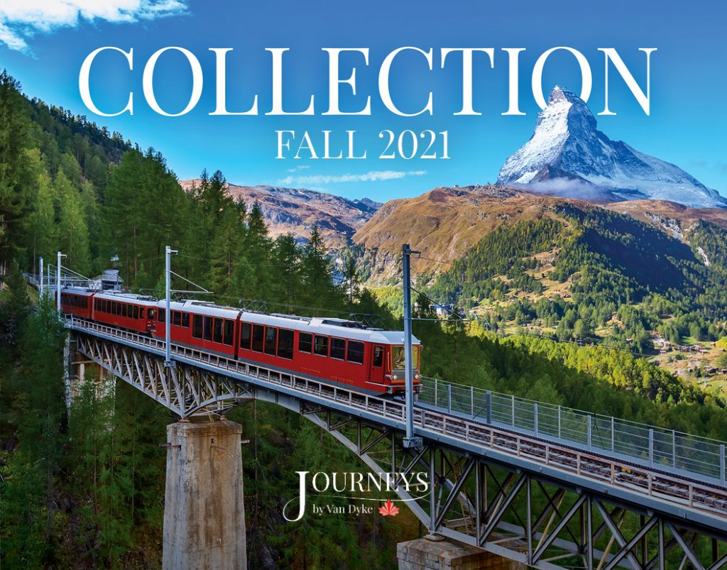 Cover of the Fall 2021 Collection Brochure