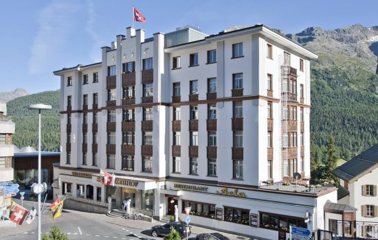 Hotel Schweizerhof, St. Moritz - Exterior
