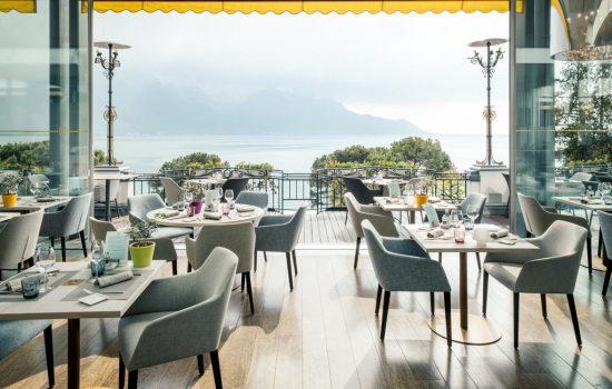 Hotel Suisse Majestic, Montreux - Resturant