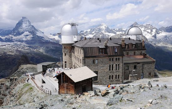 Gornergrat look out over the Matterhorn in Switzerland