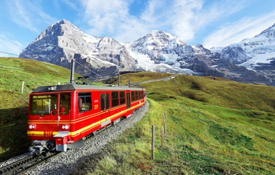 Jungfraujoch, the 'Top of Europe', Switzerland