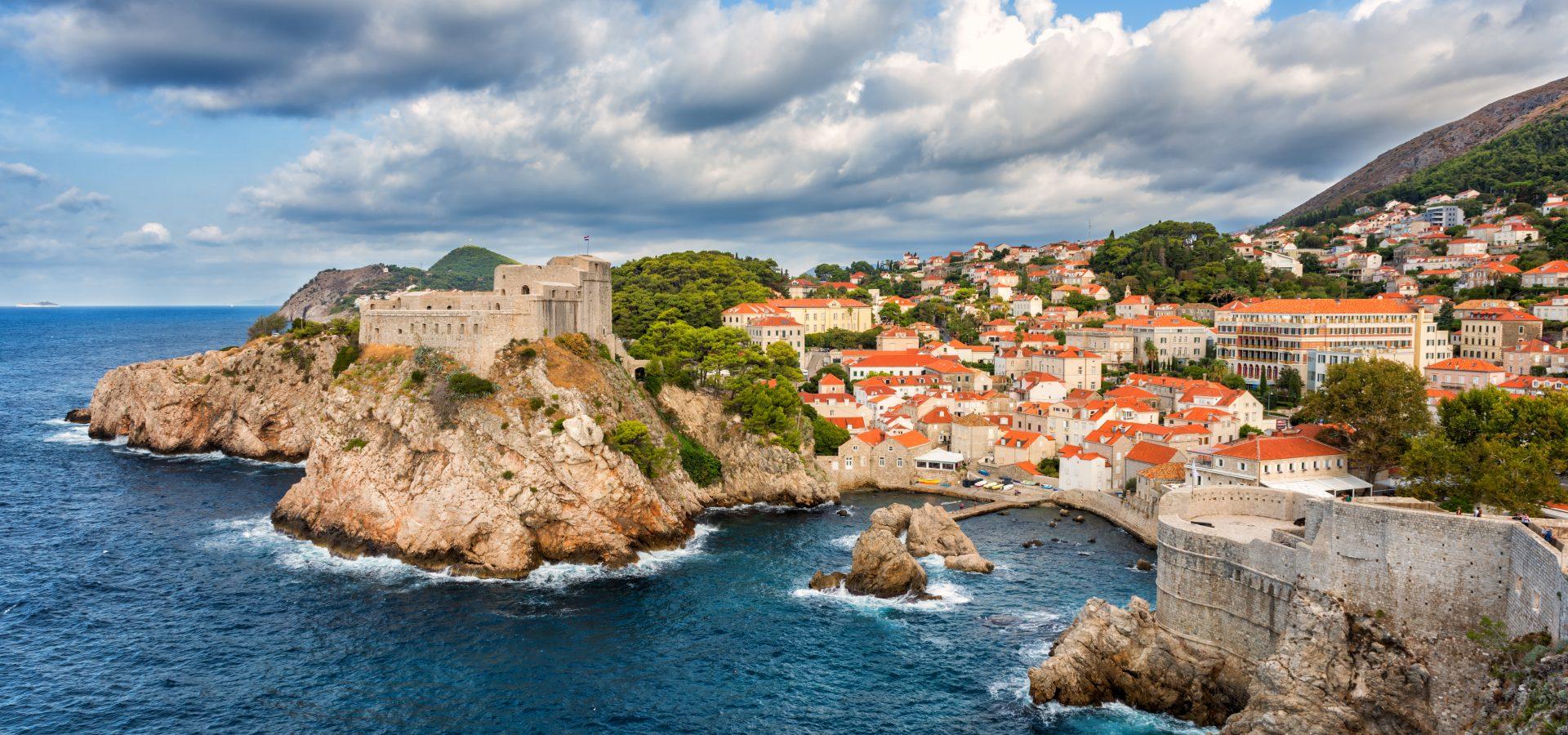 Dubrovnic, Croatia port in Europe